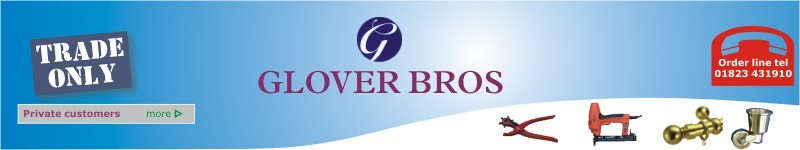 Glover Bros upholstery & soft furnishing suppliers